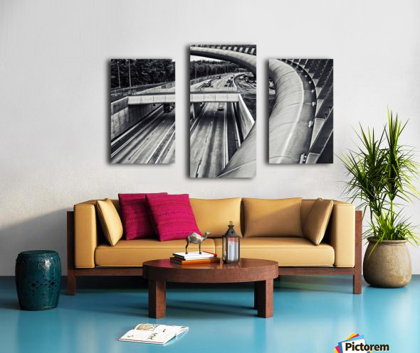 circulation Canvas print