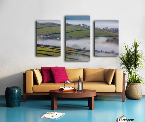 Agricultural mist Canvas print