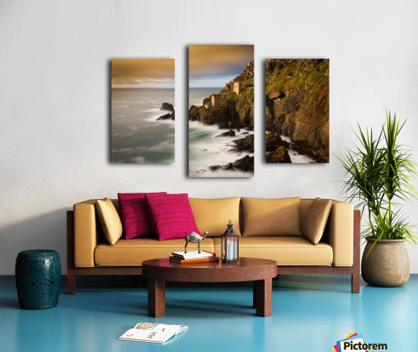 Botallack in 40 seconds Canvas print