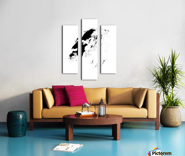 Monsieur Canvas print
