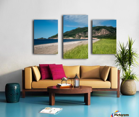 Petit Etang Beach Memories-2 Canvas print