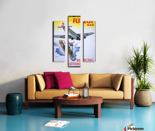 Austroflug Canvas print