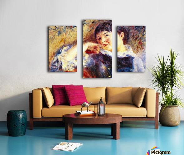 The Dreamer by Renoir Canvas print