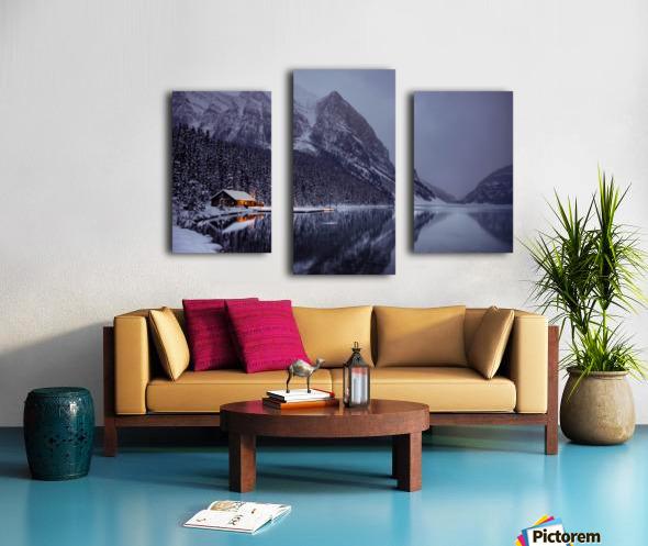Winter Lake Louise  Canvas print