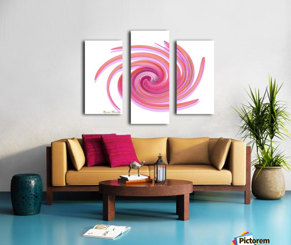 The whirl, W1.3A Canvas print