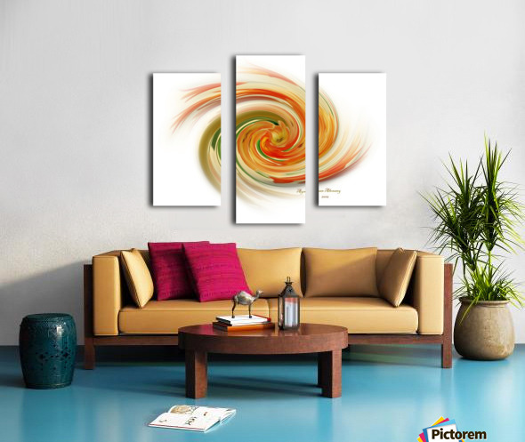 The whirl, W1.6A Canvas print
