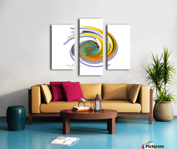 The whirl, W1.11A Canvas print