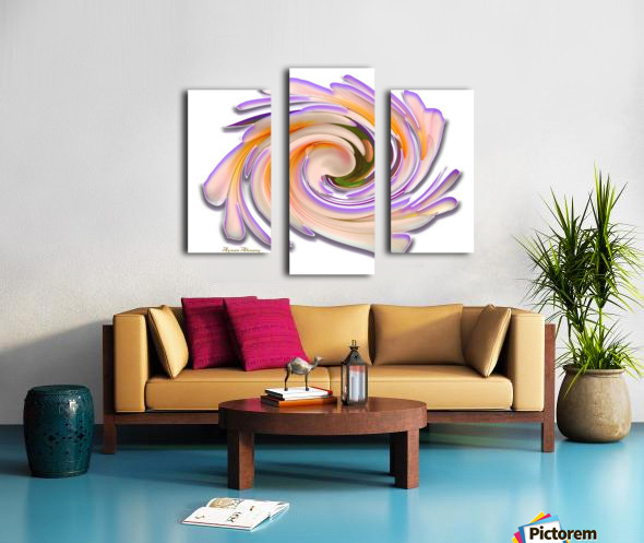 The whirl, W1.8A Canvas print