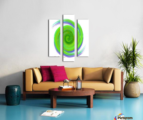 The whirl, W7.1A Canvas print