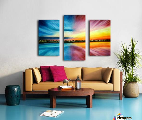 Divine Beautitude Canvas print