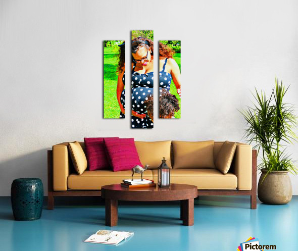 I Here Something Canvas print
