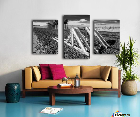 Refuelling Point  Canvas print