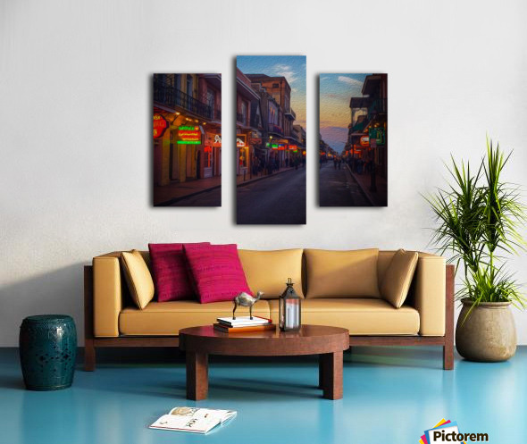 Evening in the Big Easy Canvas print