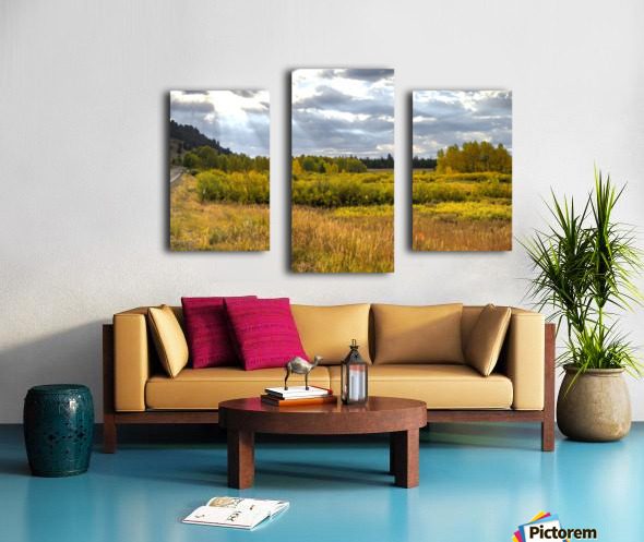 Heaven's Blessing Canvas print