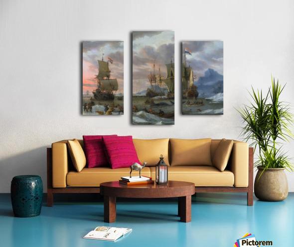 Walvisvangst Canvas print