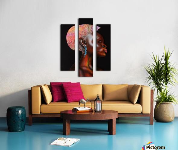 Nzinga Canvas print