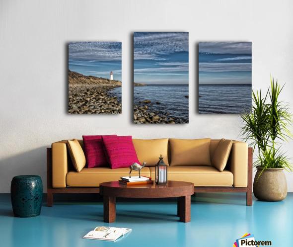 Low Point Lighthouse - Nova Scotia Canvas print