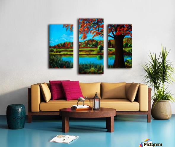 Autumn Song Canvas print