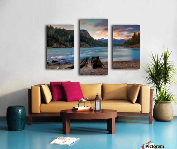 Bow River Canvas print