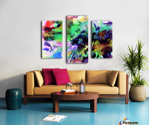 Color Blind Canvas print