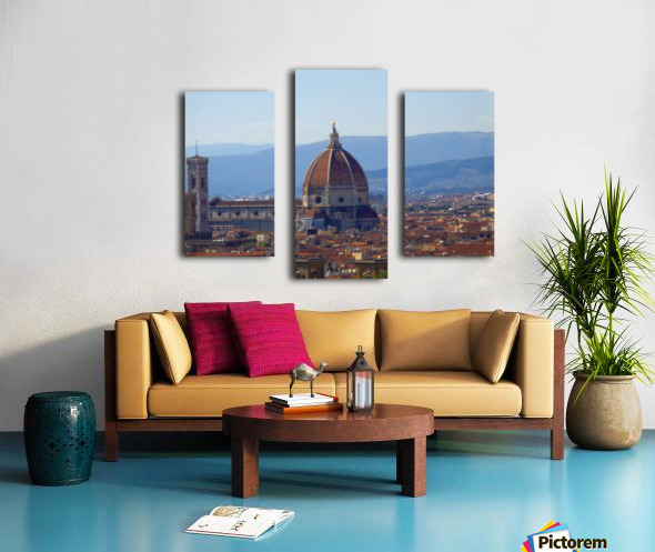 The Magic of Florence Canvas print