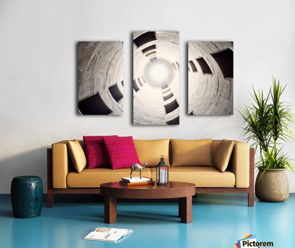 silo perspective Canvas print