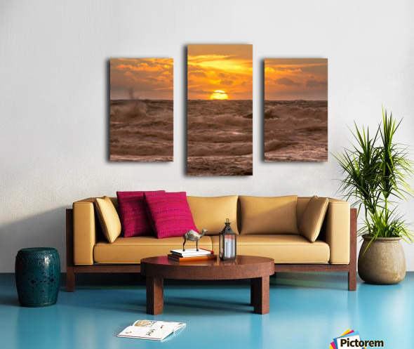 Fire & Water II Canvas print