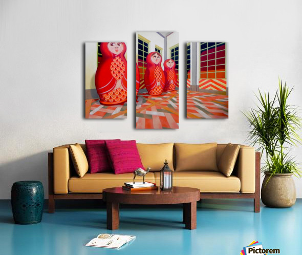Matryoshka Canvas print