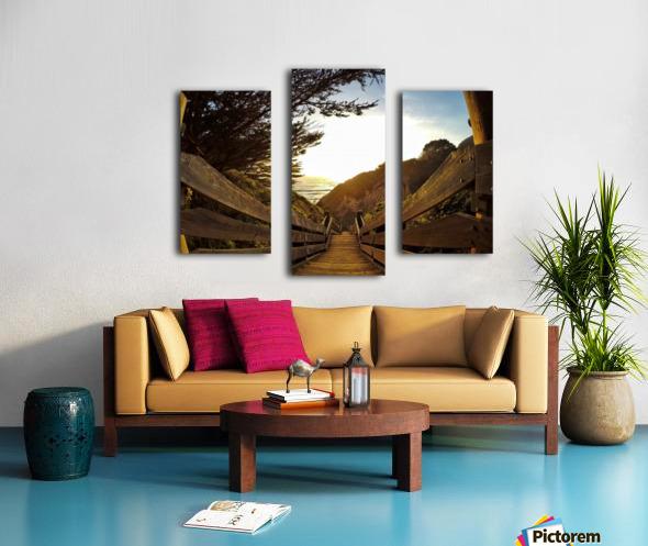 Montara Canvas print