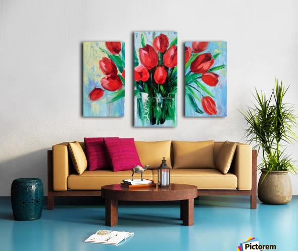 Тюльпаны Canvas print