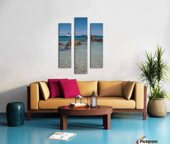 Mediterranean Canvas print