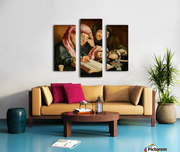 Le collecteur d'impots Canvas print