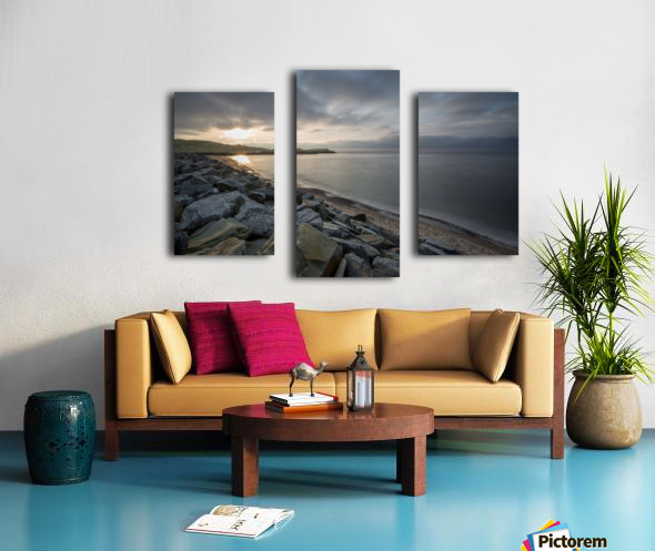 Sun Break Canvas print