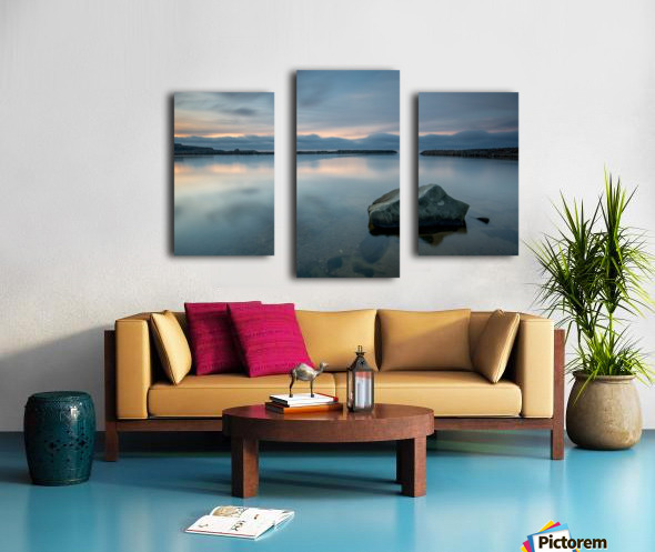 Inside the Harbour Canvas print