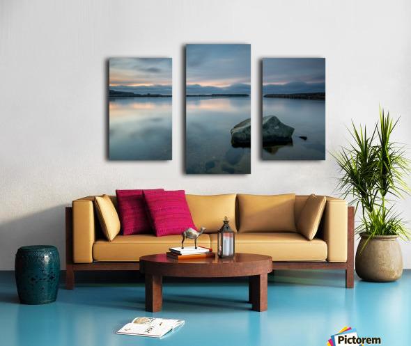 Inside the Harbour Impression sur toile