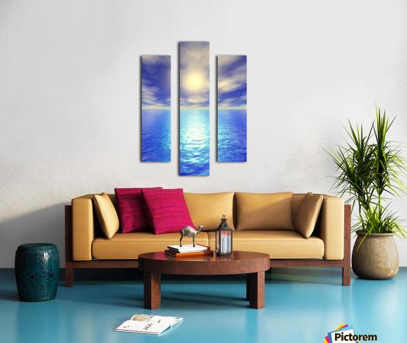 Scenic Ocean View Canvas print