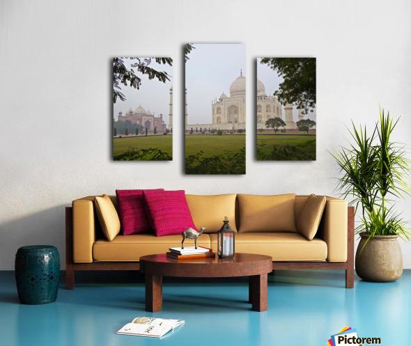 Tajmahal Canvas print