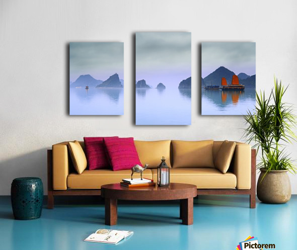 Halong Bay, Vietnam Canvas print