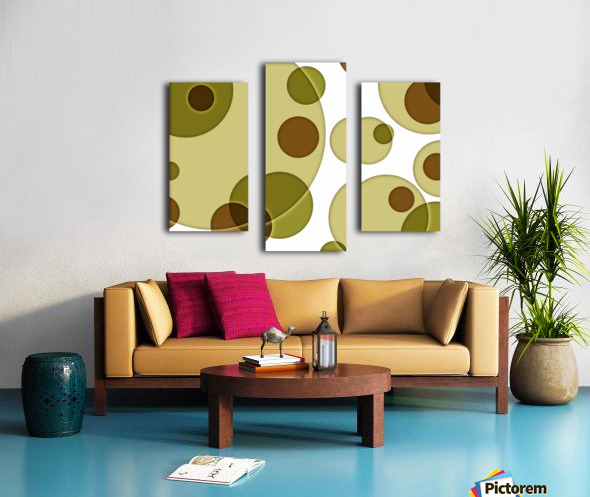 Orbicular Design Canvas print