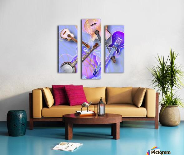 Stringed Instruments Canvas print