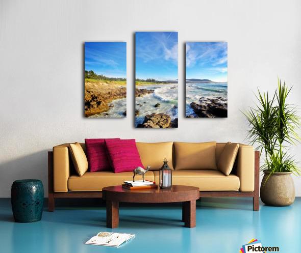 Pebble Beach GC Canvas print