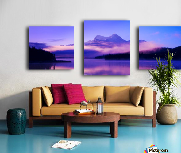 Beautiful Mountain Scenery Canvas print