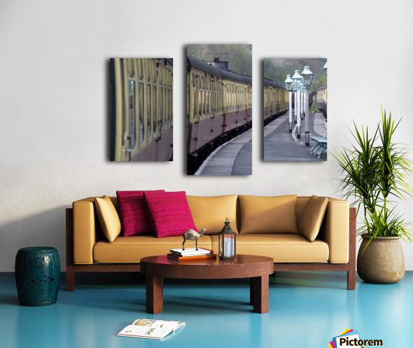 Train Station, Grosmont, North Yorkshire, England Canvas print