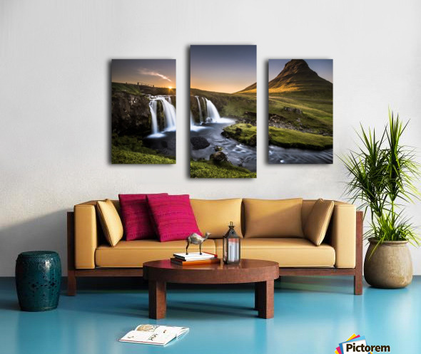 Fairy-Tale Countryside in Iceland Canvas print