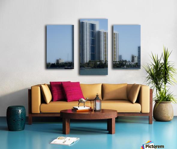 Miami Beach Buildings Canvas print