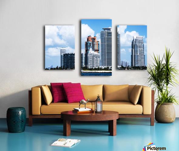 SOFI South of Fifth Miami Canvas print