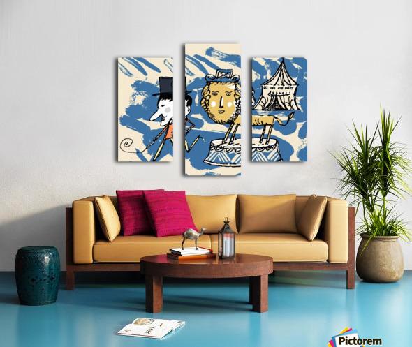 LIONBOY Canvas print