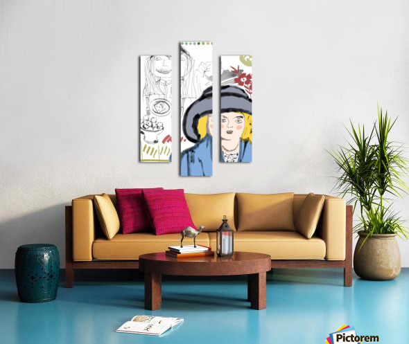 BIG HAT Canvas print