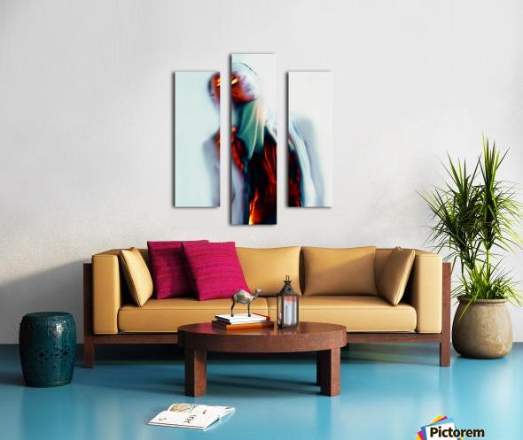 Double Exposure Serie Canvas print