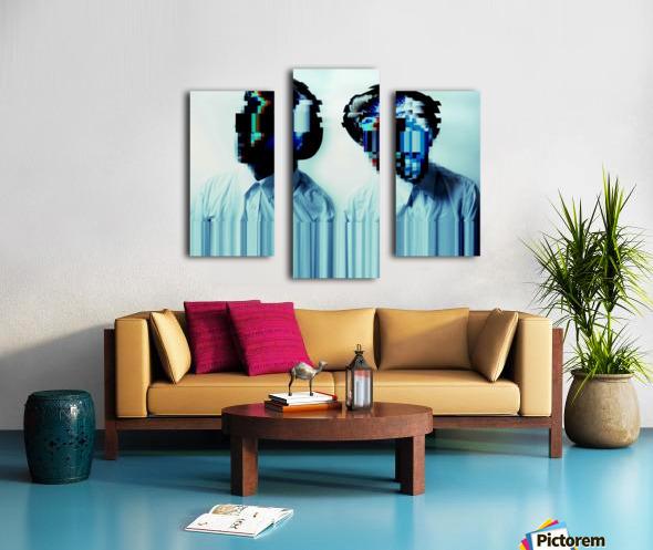 Glitch Serie Canvas print